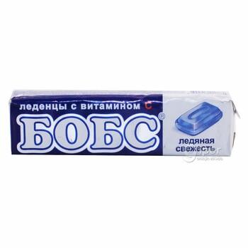 """Леденцы Бобс """"Ледяная свежесть"""" с витамином, 35 г"""