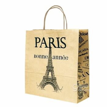 """Бумажный пакет """"PARIS"""""""