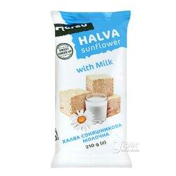 Халва подсолнечная Norsu с молоком, 210 г