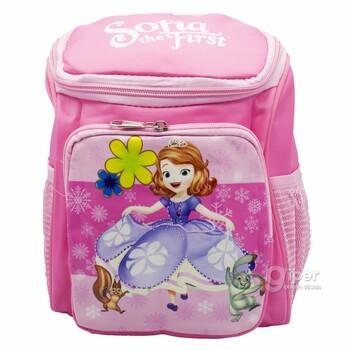 Детский дошкольный рюкзак Sofia the First 24x19x10 см, розовый