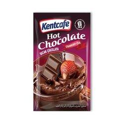 Kentcafe Горячий шоколад со вкусом клубники, 19 г