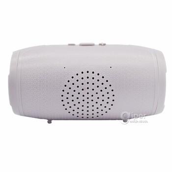 Портативный Bluetooth-динамик M-12, серый