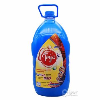 Toýa Жидкое средство для стирки+кондиционер Active max, 5 кг