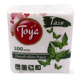 Мягкая кухонная салфетка Toýa, 100 шт