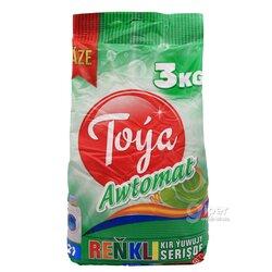 """Стиральный порошок Toýa """"Цветной"""" Automatiç, 3 кг"""