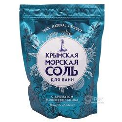 Greenfeild Крымская морская соль для ванн с ароматом можжевельника, 1100 г