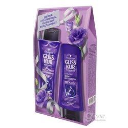 Подарочный набор Gliss Kur Объем и восстановление (шампунь + бальзам для волос)