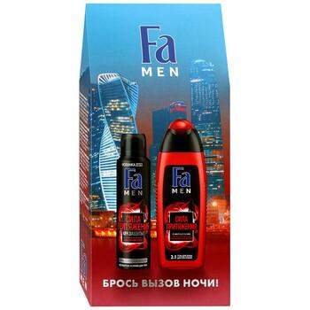 Набор Fa Men гель для душа + дезодорант-спрей