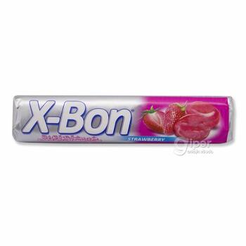 X-Bon конфета с клубничной начинкой, 30 г
