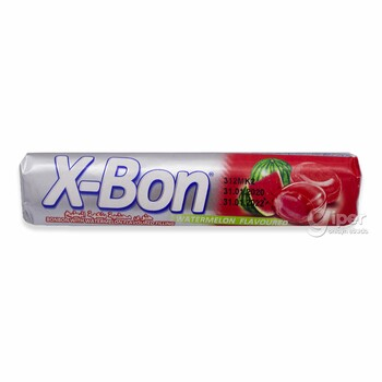 X-Bon конфета со вкусом арбуза, 30 г