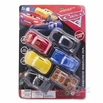 Набор игрушечных машинок Cars 3, 6 шт