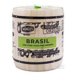 Кофе в зернах Minges Origins Brasil, бочонок, 250 г