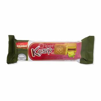 """Сахарное печенье с начинкой """"Kesp"""" лимонно-лаймовым вкусом, 75 г"""