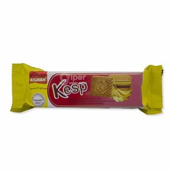 """Сахарное печенье с начинкой """"Kesp"""" со вкусом банана, 75 г"""
