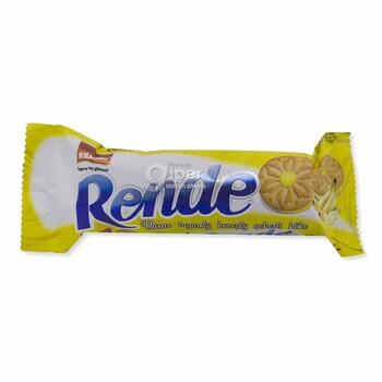 """Сахарное печенье с начинкой """"Rende"""" со вкусом банана, 61 г"""