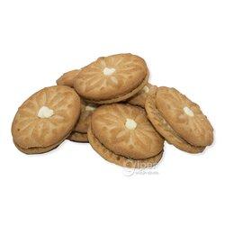 """""""Rende"""" сахарное печенье с начинкой со вкусом банана, 3 кг"""