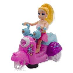 Барби Motorcycle Girl со звуковыми и световыми эффектами