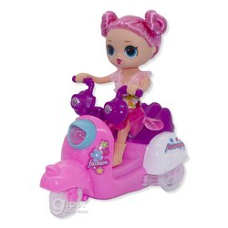 Кукла LOL Surprise Motorcycle со звуковыми и световыми эффектами