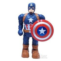 """Робот """"Captain America"""" может ходить со светом и звуком, 24 см"""