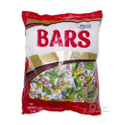 """""""Bars"""" конфеты шоколадные с ореховой начинкой, 1000 г"""