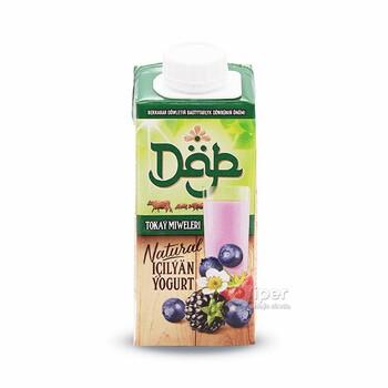 """Питьевой йогурт """"Däp"""" лесные ягоды, 200 г"""