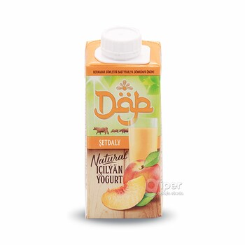 """Питьевой йогурт """"Däp"""" со вкусом персика, 200 г"""