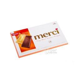 Şokolad Merci ajy pyrtykal mindal, 100 gr