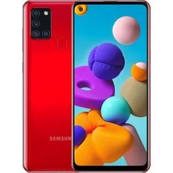 Смартфон Samsung Galaxy A21S (SM-A217F/DSN) 3/32 ГБ, RED
