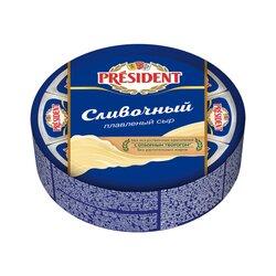 """Плавленный сыр President """"Сливочный"""" 45%, 280 г"""