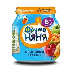 """Детское пюре """"ФрутоНяня"""" фруктовый салатик 100 г."""