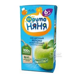Сок детский яблоко ФрутоНяня, 200 мл.
