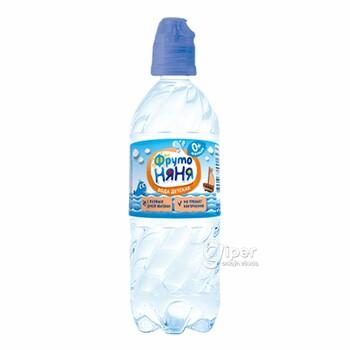 """""""ФрутоНяня"""" питьевая вода, 0,33 л."""