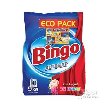 """Стиральный порошок Bingo """"Букет роз всех цветов"""" 9 кг"""