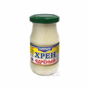 "Хрен ядреный ""Главпродукт"" банка, 170 г."