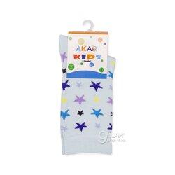 Детские носки звездочка AKAR BBCL01.11, 35-38 размер, небесно-голубой