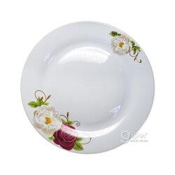 Большая плоская тарелка (27x27x2 см) 1 шт