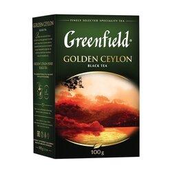 Чай черный Greenfield Golden Ceylon, 100 г