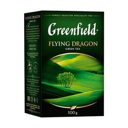 Чай зеленый Greenfield Flying Dragon, 100 г