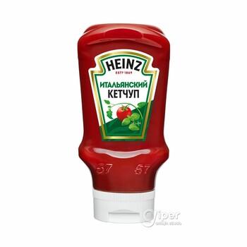 Кетчуп Heinz Итальянский, пластиковая бутылка-перевертыш, 570 г