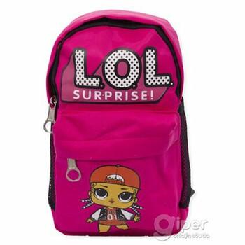 """Детский дошкольный рюкзак """"LOL surprise""""  30x22x10 см, розовый"""