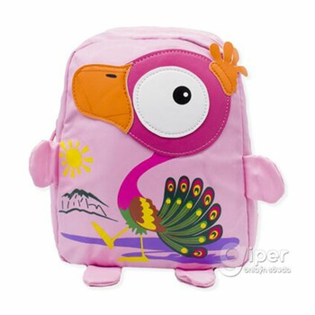 """Детский дошкольный рюкзак """"Жар-птица """" 30x23x10 см, розовый"""
