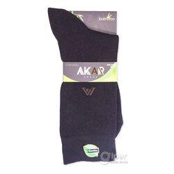 Мужские носки AKAR BBEL01, 40-43 размер, черный