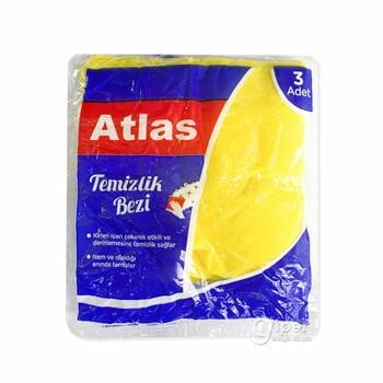 Салфетка для уборки Atlas, 3 шт
