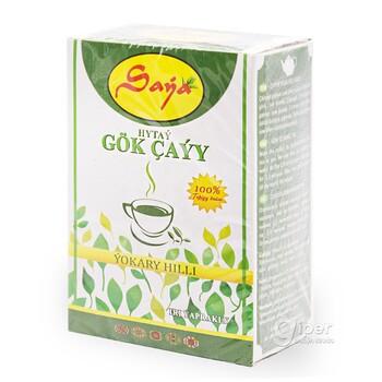 Зеленый чай Saýa, с крупными листьями, 190 г