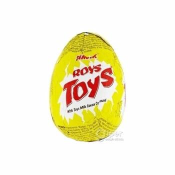 Шоколадное яйцо Roys Toys, 23 г