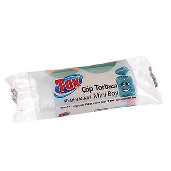 "Мусорный пакет ""Tex"" 40x47 см 10 л, 40 шт"