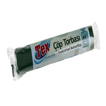 "Мусорный пакет ""Tex"" 75x90 см 70 л, 10 шт"