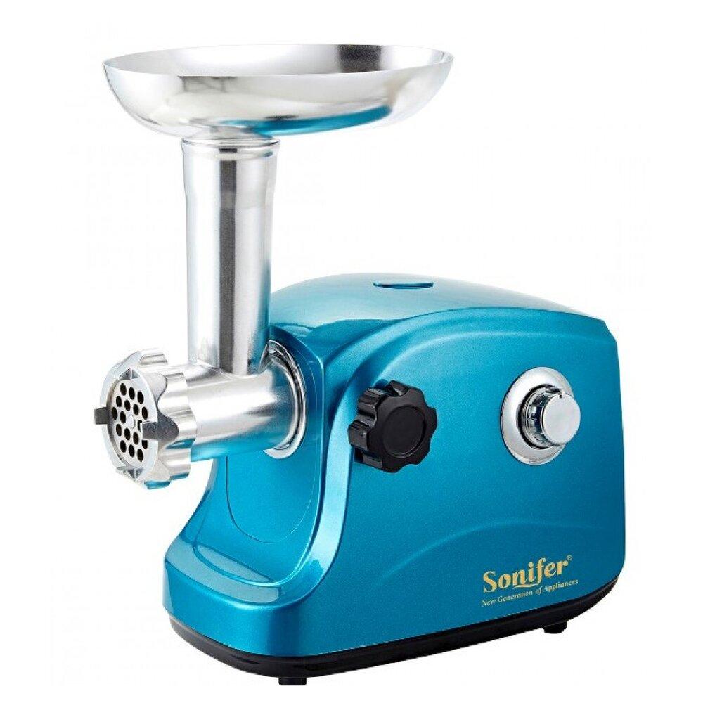Электрическая мясорубка Sonifer SF-5003 (синяя)