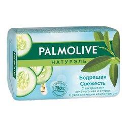 """Туалетное мыло Palmolive """"Бодрящая Свежесть"""" с экстрактами Зеленого чая и Огурца, 90 г"""