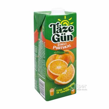 """Täze Gün"" сок апельсиновый, 1 л"